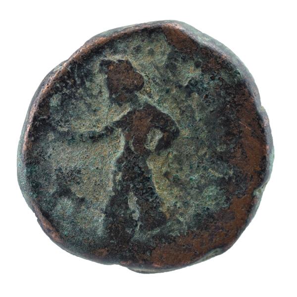 Kushan Dynasty- Tetradrachm of Kanishka I- Mao Type
