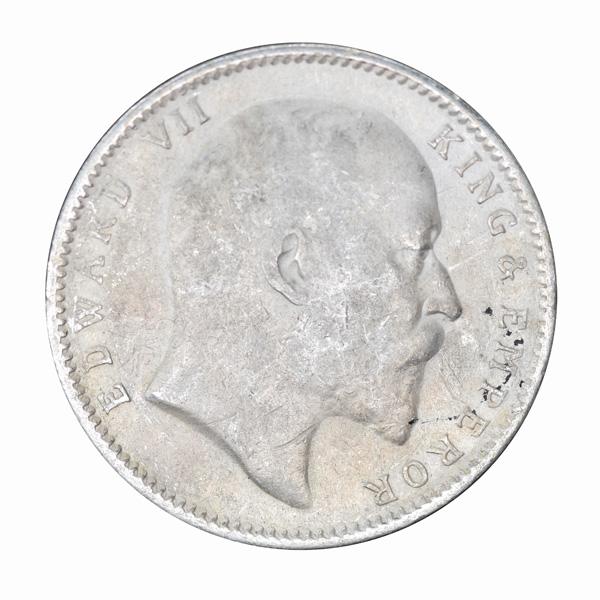 British India King Edward VII One Rupee 1903 Calcutta