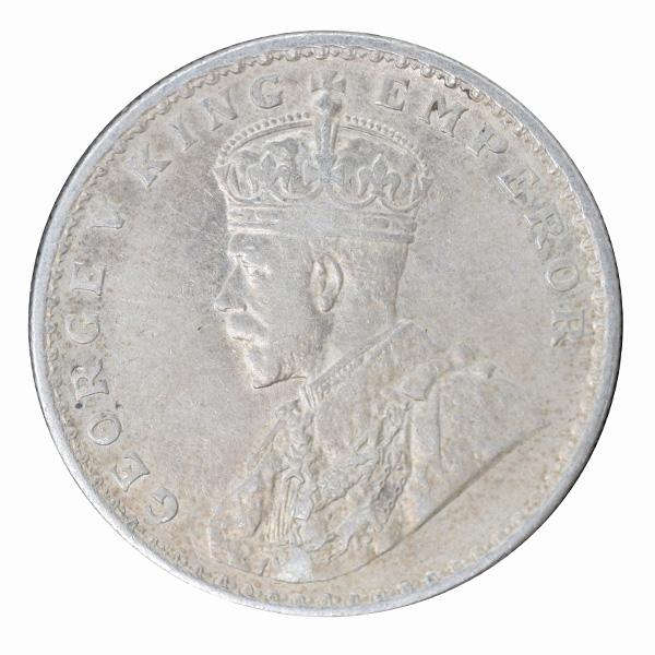 British India King George V One Rupee 1919 Calcutta