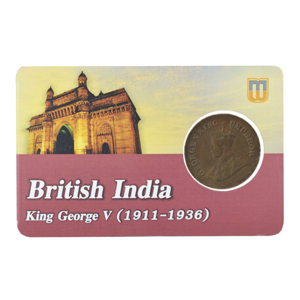 British india King George V - 1_2 pice 1926 calcutta