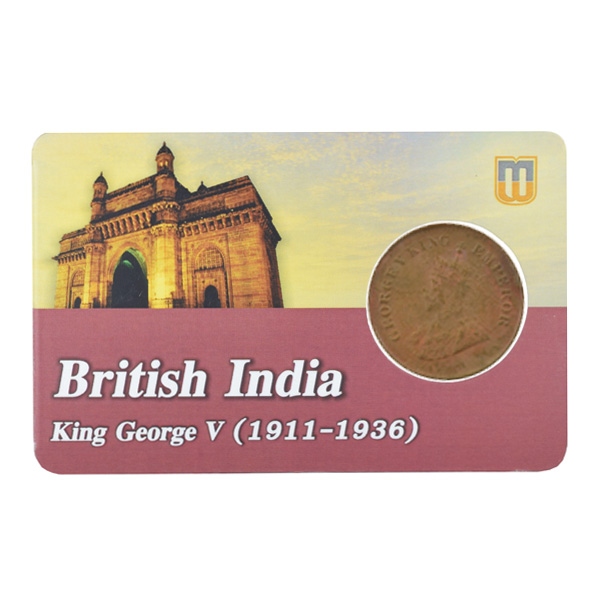 British india King George V - 1_2 pice 1930 calcutta