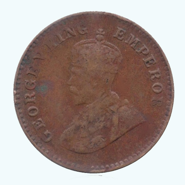 British India King George V 1/12 Anna 1936 Mumbai
