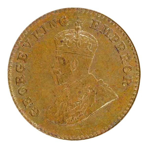 British India King George V 1/12 Anna 1924 Mumbai