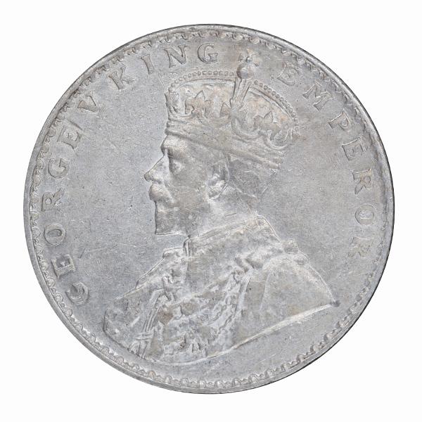 British India King George V One Rupee 1912 Bombay