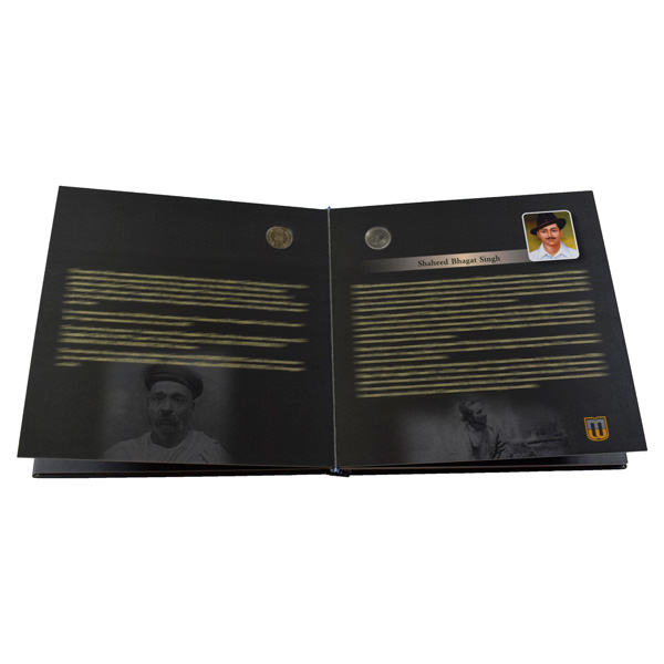Coins of Freedom Fighters -Coffee Table Book