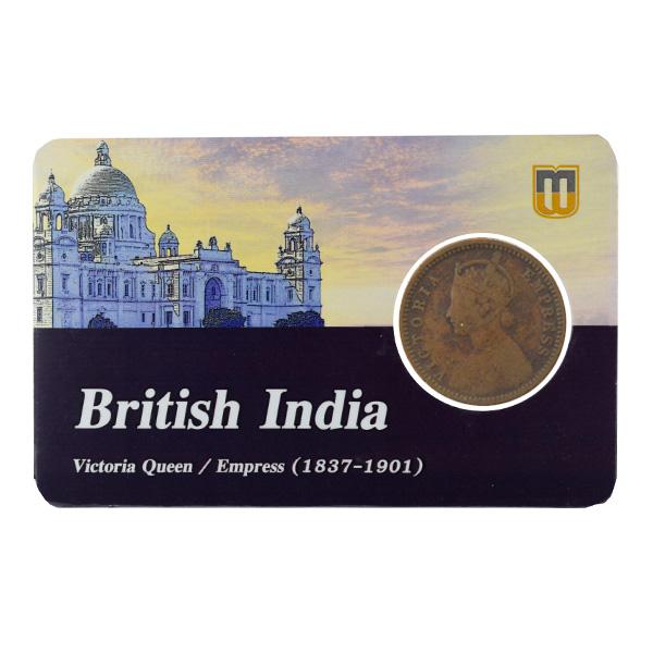 British India Victoria Empress - 1_12 Anna 1887 Calcutta