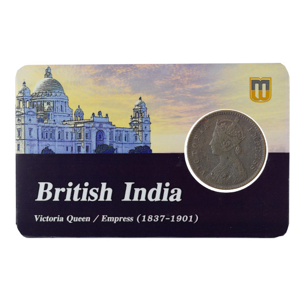 British India Victoria Empress - 1_12 Anna 1890 Calcutta