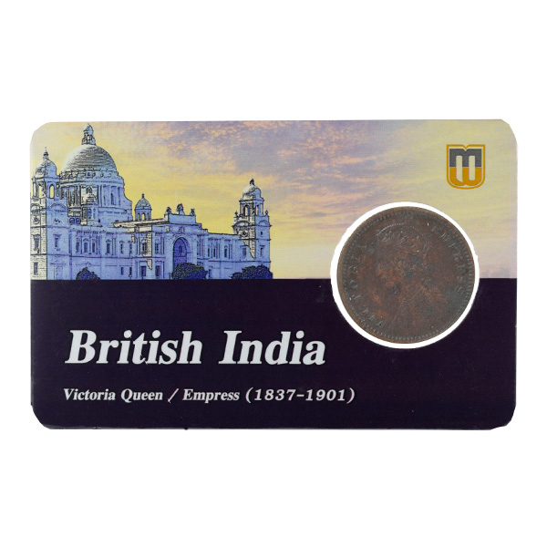 British India Victoria Empress - 1/12 Anna 1892 calcutta