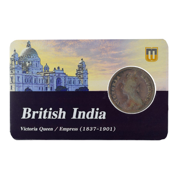 British India Victoria Empress - 1/2 Pice Coin 1897 calcutta