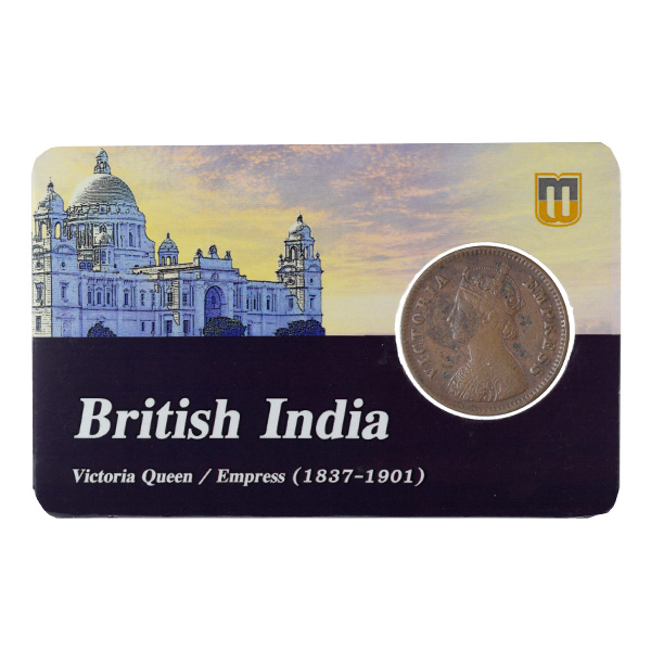 British India Victoria Empress - 1/2 Pice 1897 calcutta