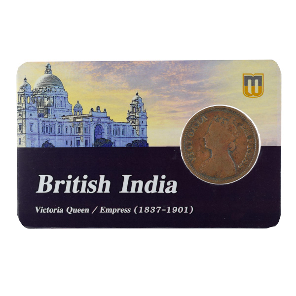 British India Victoria Empress - 1/2 Pice 1898 calcutta