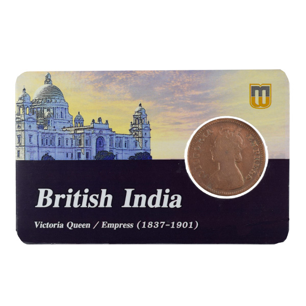 British India Victoria Empress - 1/2 Pice 1899 calcutta