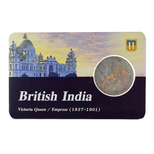 British India Victoria Queen - 1/12 Anna 1862 Madras