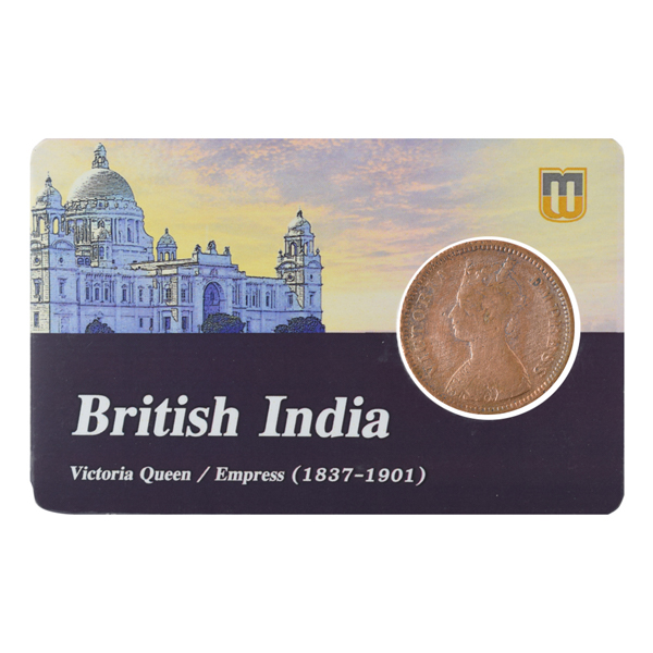 Dhar Princely State Coin Half Pice