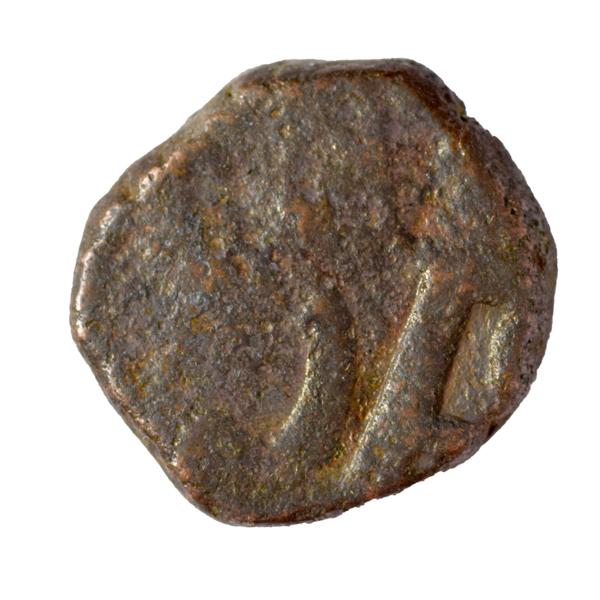 Chhatrapati Shivaji Maharaj - Shiv Copper Maratha Coin