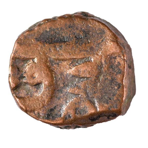 Chhatrapati Shivaji Maharaj - Chhatra Pati Copper Maratha Coin