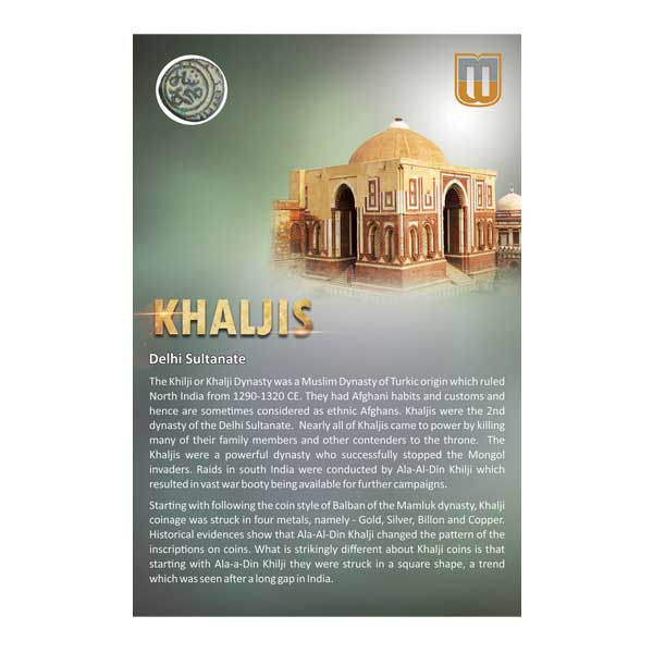 Delhi Sultans Khaljis Coin