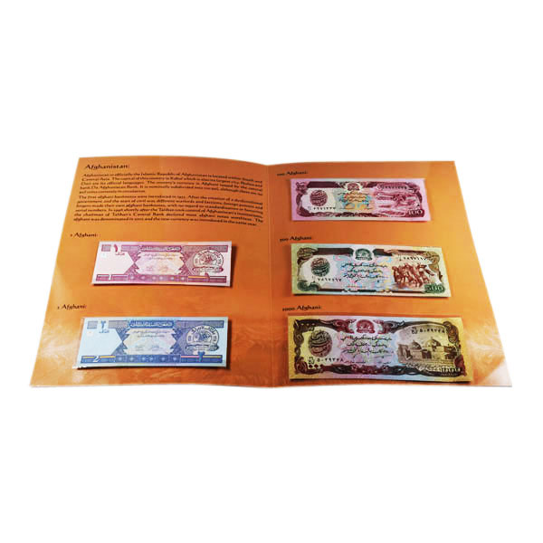 Afganistan Currency Card
