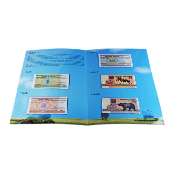 Set of 5 Belarus Currency Notes