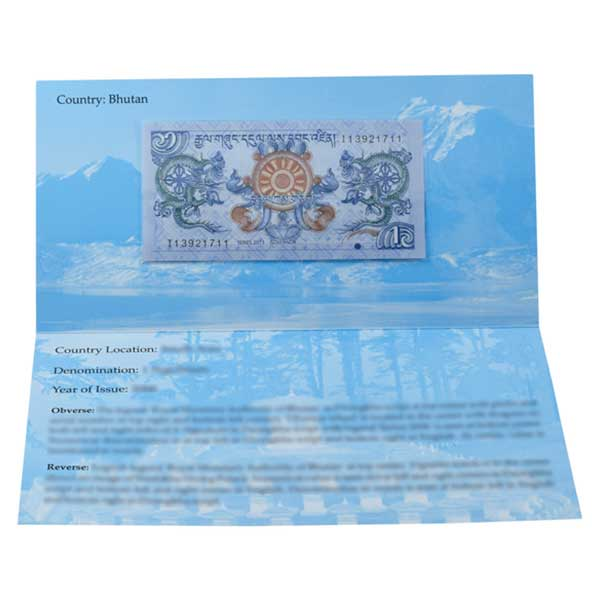 Bhutan Description Card
