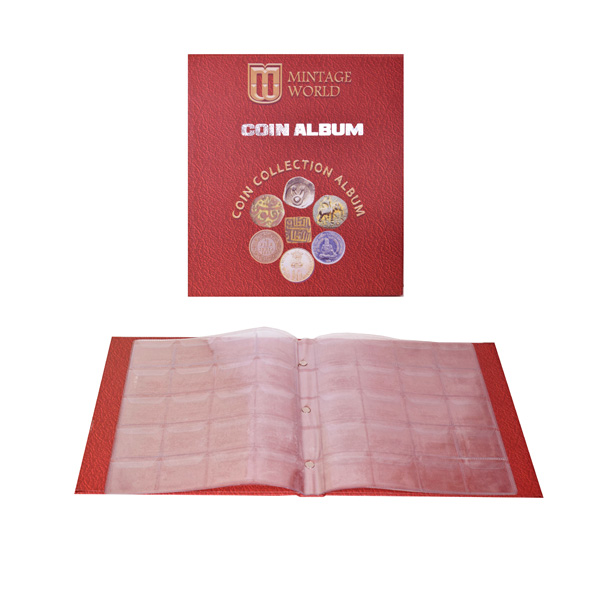 Mintage General Coin Collection Album