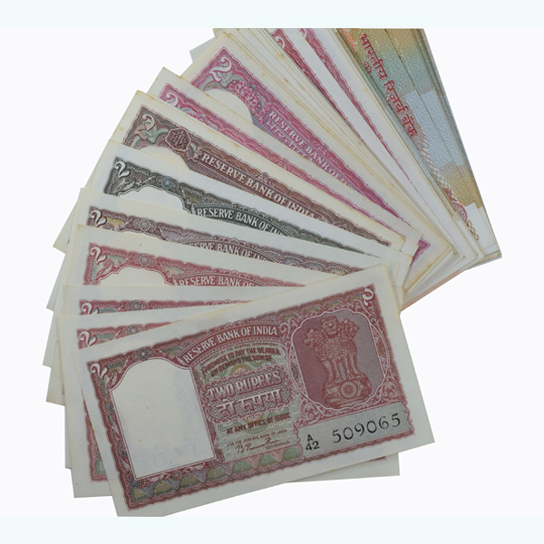 Signature Collection Note - 2 Rupees