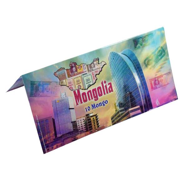 Mongolia Description Card - 10 Mongo