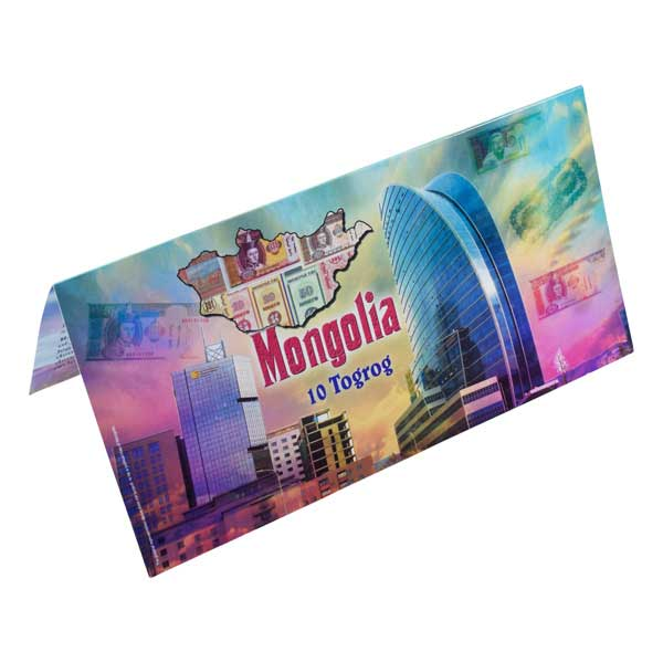 Mongolia Description Card
