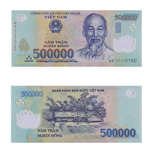 Vietnam Note 500,000 dong