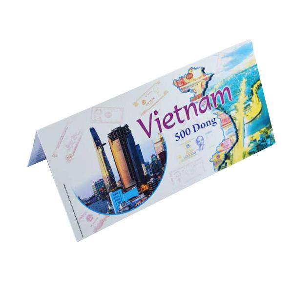 Vietnam Description Card - 500 Dong