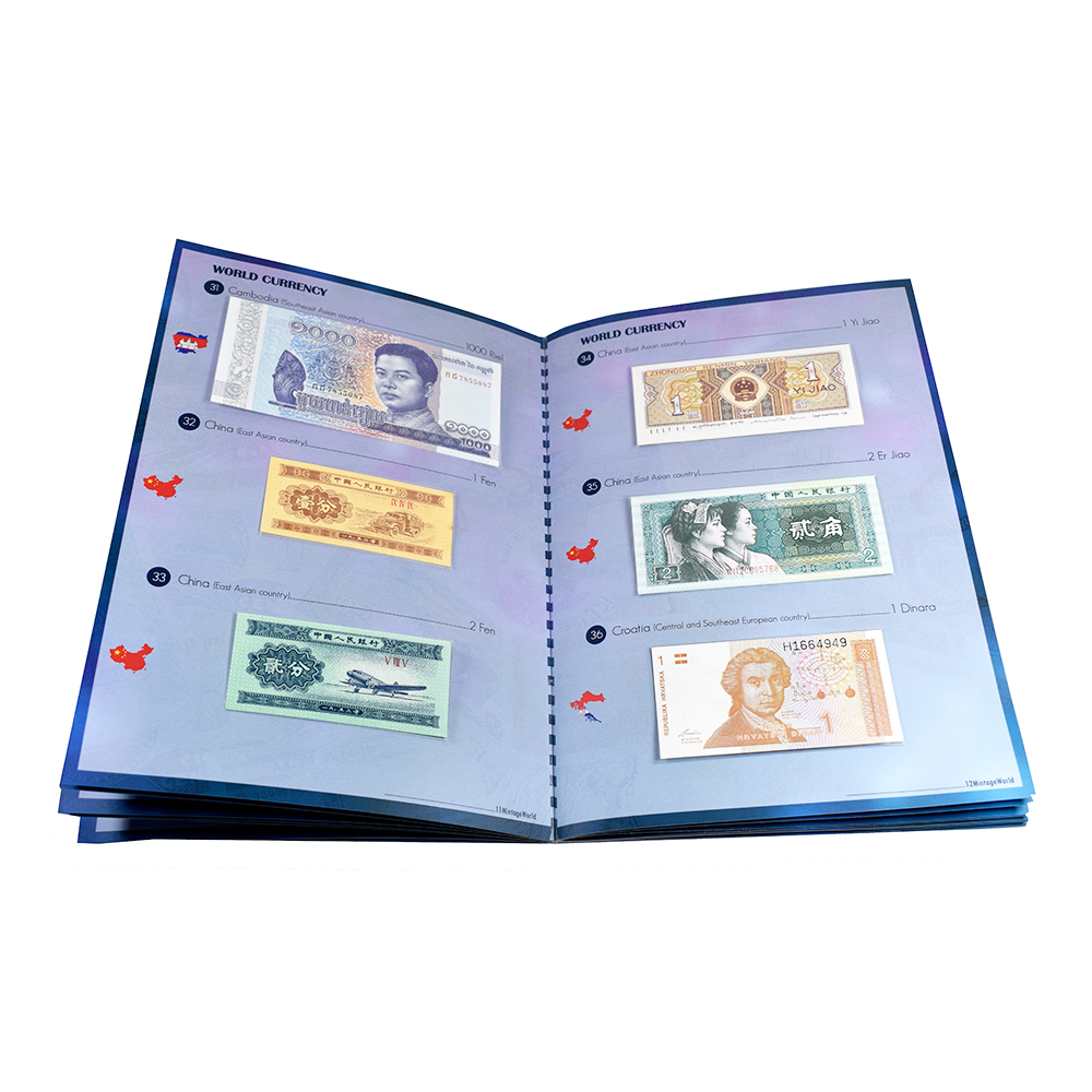 Set of 100 Banknotes from 30 Countries
