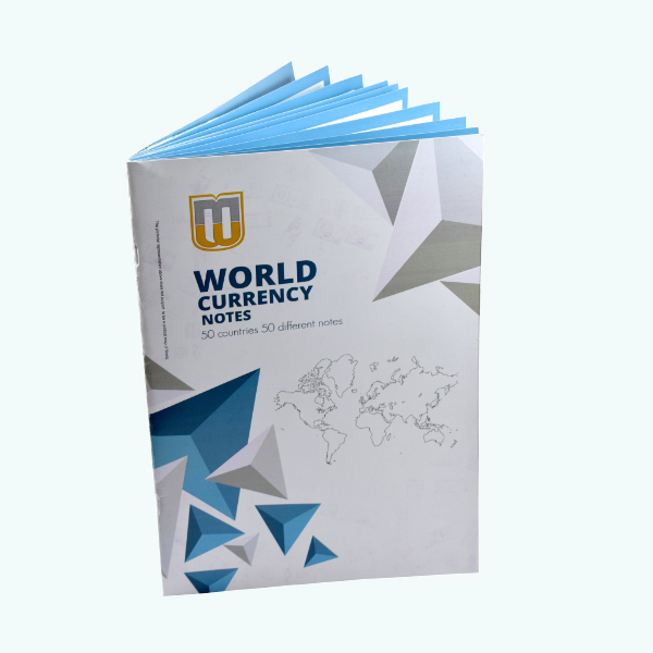 Set of 50 banknotes from 50 countries