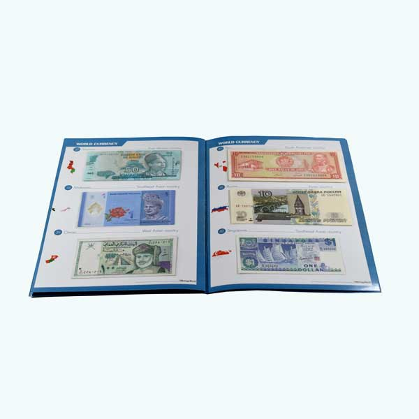 Set of 25 banknotes from 25 Asian countries