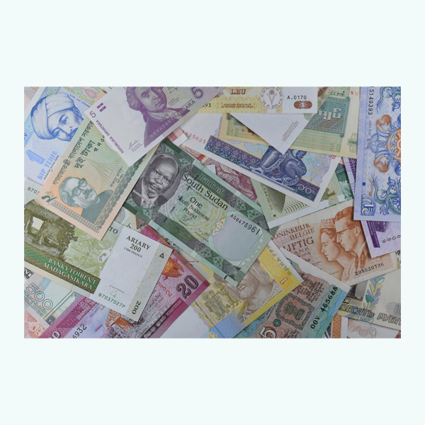 World 50 Assorted Currency Note - Set 1