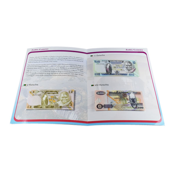 Set of 3 Zambia Currency Notes - Kwacha