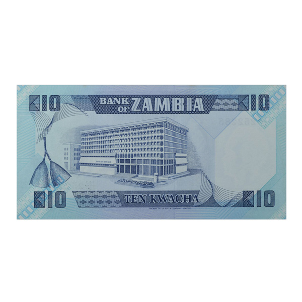 Zambia Description Card - 10 Kwacha