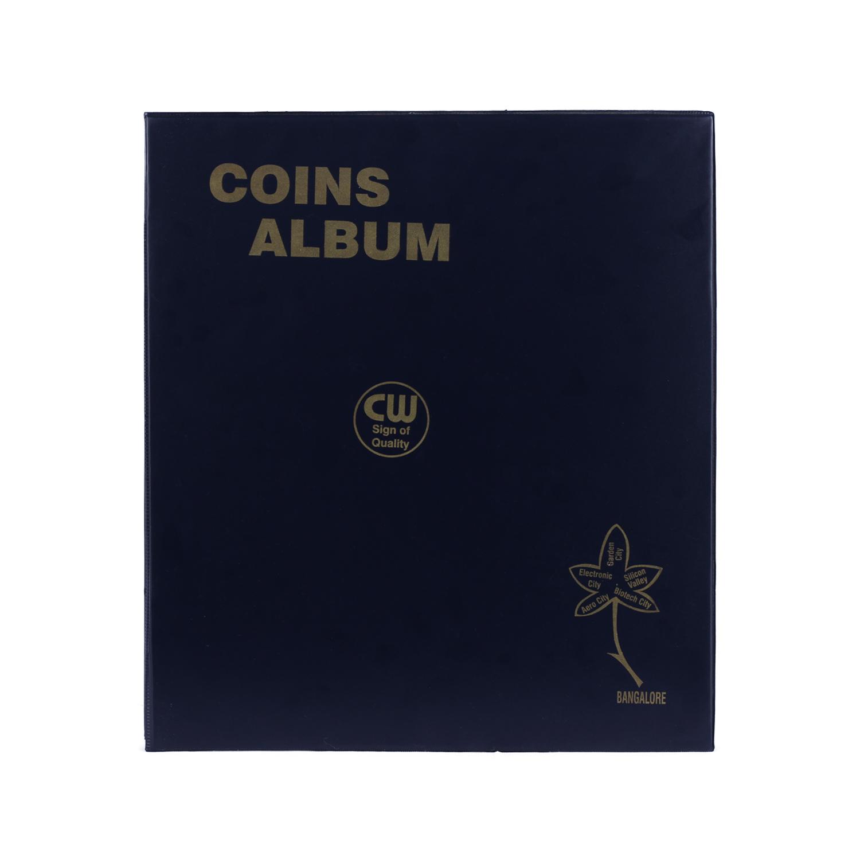 Coin Album for 250 Coins - Transparent Sheets