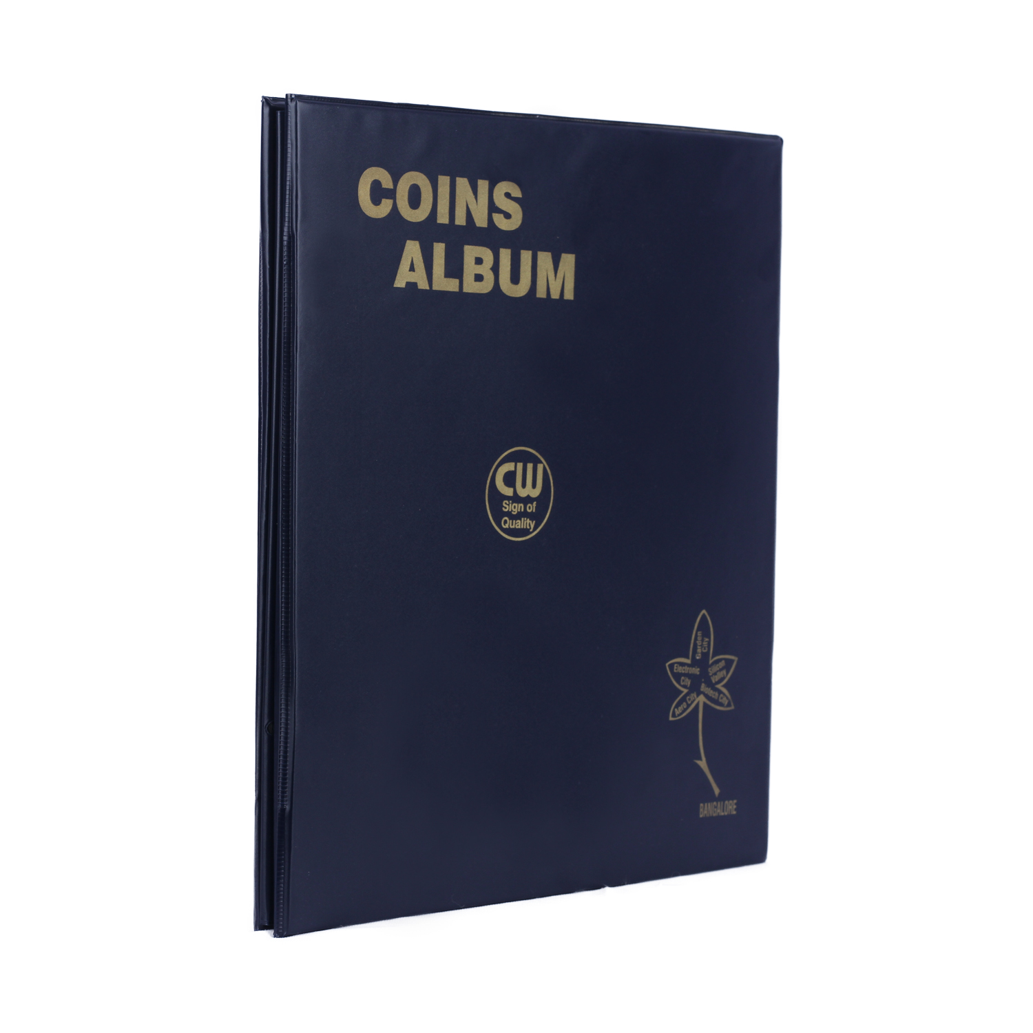 Coin Album for 250 Coins - Transparent Sheets