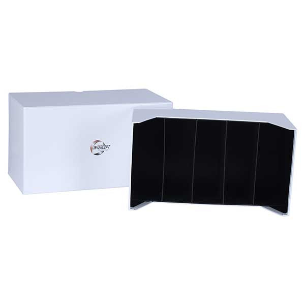 Lighthouse Intercept L 180 Box for Coin Sets, Postcards, Letters and Documents upto 80 x 160mm