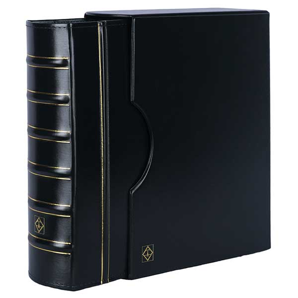 Lighthouse Ringbinder GRANDE - classic design GIGANT incl. Slipcase - Green