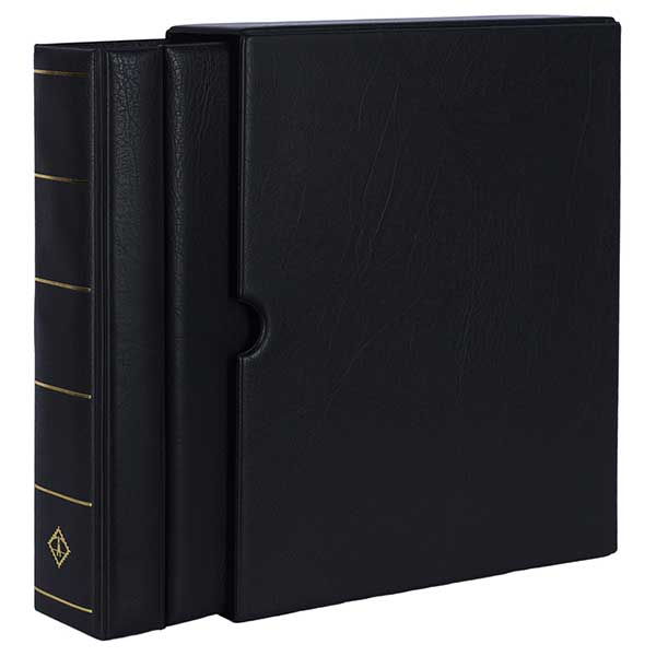 Lighthouse Ringbinder VARIO - GIGANT - incl. Slipcase - Black