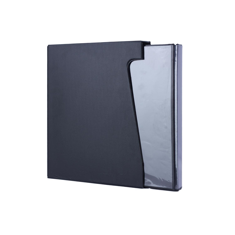 Premium Coin Album with Coin Holders - Black