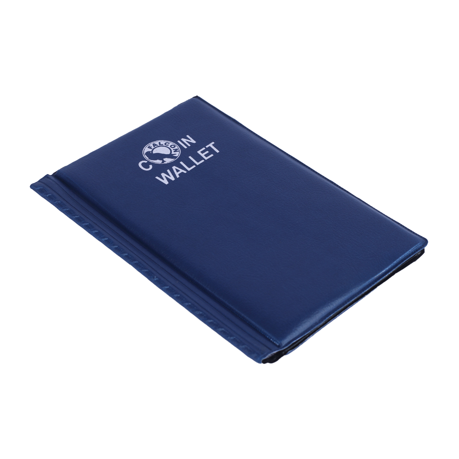 Small Coin Wallet - for 60 Coins - Dark Blue