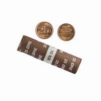 Denmark 25 Ore Mint Roll - 40 coins