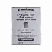 Lighthouse SF Block Mount assortment - 9 different sizes - black backing film