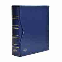 Lighthouse Banknotes album Numis - classic design - blue