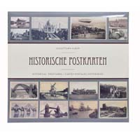 Lighthouse Album for 600 historical postcards with 50 bound clear pocket sheets