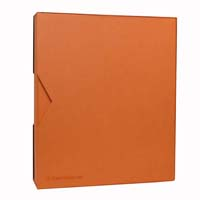 Lighthouse GRANDE PUR Ringbinder with Slipcase- Orange