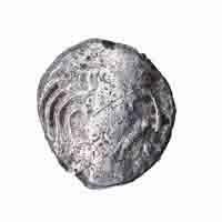 Gupta Dynasty Coin of Kumar Gupta -   (Mahendraditya Legend)