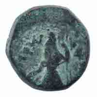 Kushan Dynasty Coin Tetradrachm of Kanishka I- Nana Type